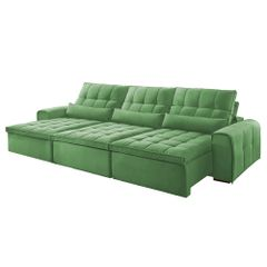 Sofa-Retratil-e-Reclinavel-5-Lugares-Verde-350m-Bayonne
