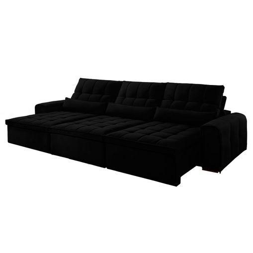 Sofa-Retratil-e-Reclinavel-6-Lugares-Preto-380m-Bayonne