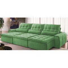 Sofa-Retratil-e-Reclinavel-6-Lugares-Verde-410m-Bayonne---Ambiente
