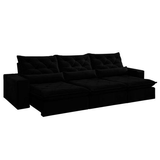 Sofa-Retratil-e-Reclinavel-6-Lugares-Preto-380m-Jaipur