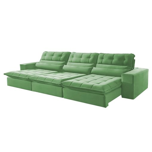 Sofa-Retratil-e-Reclinavel-5-Lugares-Verde-320m-Renzo