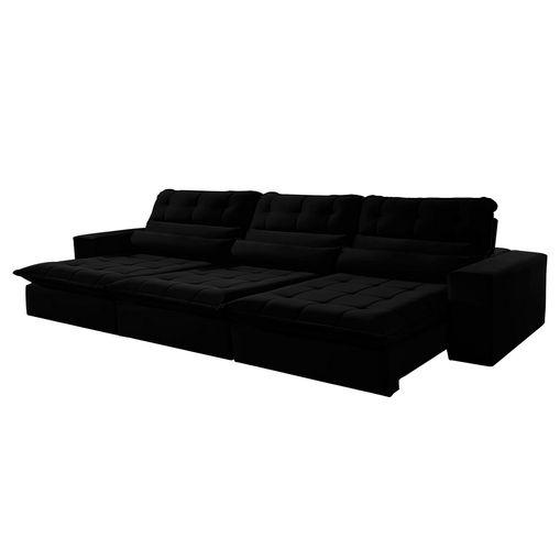 Sofa-Retratil-e-Reclinavel-5-Lugares-Preto-320m-Renzo