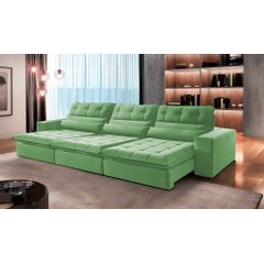 Sofa-Retratil-e-Reclinavel-6-Lugares-Verde-410m-Renzo---Ambiente