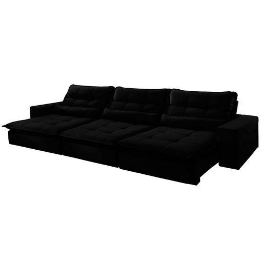 Sofa-Retratil-e-Reclinavel-5-Lugares-Preto-350m-Nouvel