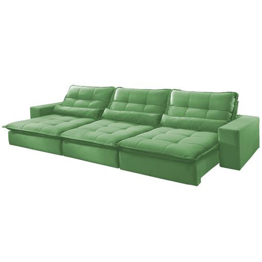 Sofa-Retratil-e-Reclinavel-6-Lugares-Verde-410m-Nouvel