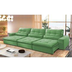 Sofa-Retratil-e-Reclinavel-6-Lugares-Verde-410m-Nouvel---Ambiente