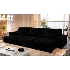 Sofa-Retratil-e-Reclinavel-6-Lugares-Preto-410m-Nouvel---Ambiente