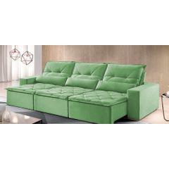 Sofa-Retratil-e-Reclinavel-6-Lugares-Verde-380m-Reidy---Ambiente