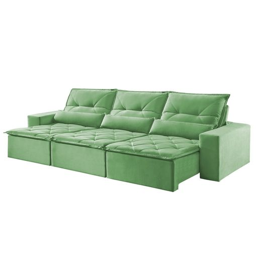 Sofa-Retratil-e-Reclinavel-6-Lugares-Verde-410m-Reidy