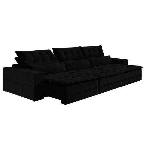 Sofa-Retratil-e-Reclinavel-6-Lugares-Preto-380m-Odile
