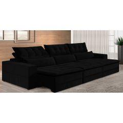 Sofa-Retratil-e-Reclinavel-6-Lugares-Preto-380m-Odile---Ambiente