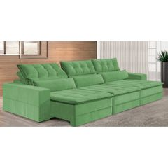 Sofa-Retratil-e-Reclinavel-6-Lugares-Verde-410m-Odile---Ambiente