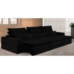 Sofa-Retratil-e-Reclinavel-6-Lugares-Preto-410m-Odile---Ambiente