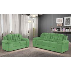 Sofa-2-Lugares-Verde-em-Veludo-157m-Zumthor---Ambiente