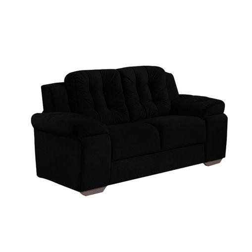 Sofa-2-Lugares-Preto-em-Veludo-157m-Zumthor