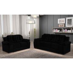 Sofa-2-Lugares-Preto-em-Veludo-157m-Zumthor---Ambiente