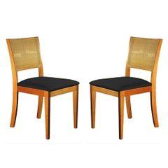 Kit-2-Cadeiras-de-Jantar-Estofada-Preta-em-Veludo-Arsa