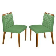 Kit-2-Cadeiras-de-Jantar-Estofada-Verde-em-Veludo-Birlik