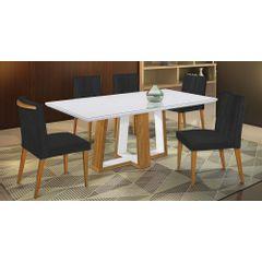 Kit-2-Cadeiras-de-Jantar-Estofada-Preta-em-Veludo-Dizayn---Ambiente