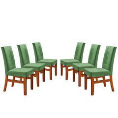 Kit-6-Cadeiras-de-Jantar-Estofada-Verde-em-Veludo-Duz