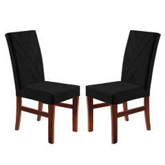 Kit-2-Cadeiras-de-Jantar-Estofada-Preta-em-Veludo-Elmas
