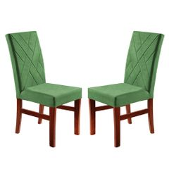 Kit-2-Cadeiras-de-Jantar-Estofada-Verde-em-Veludo-Elmas