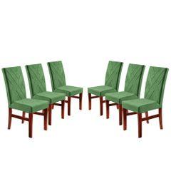 Kit-6-Cadeiras-de-Jantar-Estofada-Verde-em-Veludo-Elmas