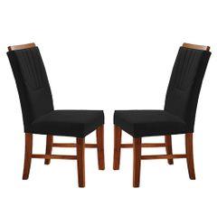 Kit-2-Cadeiras-de-Jantar-Estofada-Preta-em-Veludo-Hatlar