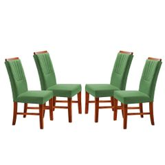 Kit-4-Cadeiras-de-Jantar-Estofada-Verde-em-Veludo-Hatlar