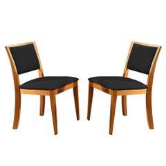 Kit-2-Cadeiras-de-Jantar-Estofada-Preta-em-Veludo-Kalip
