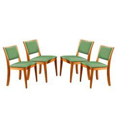 Kit-4-Cadeiras-de-Jantar-Estofada-Verde-em-Veludo-Kalip