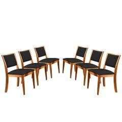 Kit-6-Cadeiras-de-Jantar-Estofada-Preta-em-Veludo-Kalip