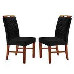 Kit-2-Cadeiras-de-Jantar-Estofada-Preta-em-Veludo-Kare