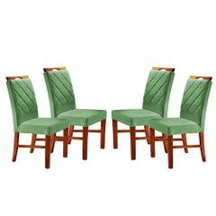 Kit-4-Cadeiras-de-Jantar-Estofada-Verde-em-Veludo-Kare