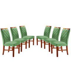 Kit-6-Cadeiras-de-Jantar-Estofada-Verde-em-Veludo-Kare