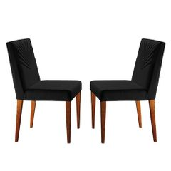 Kit-2-Cadeiras-de-Jantar-Estofada-Preta-em-Veludo-Kurs