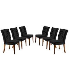 Kit-6-Cadeiras-de-Jantar-Estofada-Preta-em-Veludo-Sedye