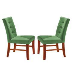 Kit-2-Cadeiras-de-Jantar-Estofada-Verde-em-Veludo-Sirt