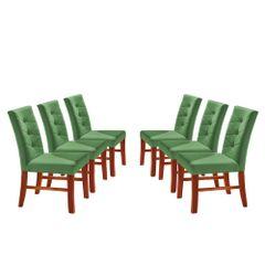 Kit-6-Cadeiras-de-Jantar-Estofada-Verde-em-Veludo-Sirt