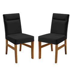 Kit-2-Cadeiras-de-Jantar-Estofada-Preta-em-Veludo-Temel