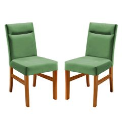 Kit-2-Cadeiras-de-Jantar-Estofada-Verde-em-Veludo-Temel