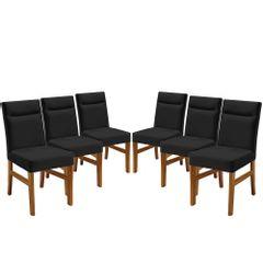 Kit-6-Cadeiras-de-Jantar-Estofada-Preta-em-Veludo-Temel