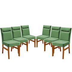 Kit-6-Cadeiras-de-Jantar-Estofada-Verde-em-Veludo-Temel