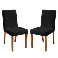 Kit-2-Cadeiras-de-Jantar-Estofada-Preta-em-Veludo-Yarim
