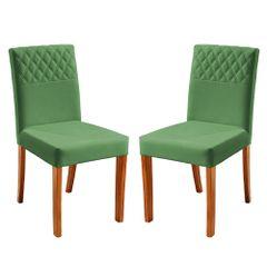 Kit-2-Cadeiras-de-Jantar-Estofada-Verde-em-Veludo-Yarim