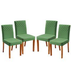 Kit-4-Cadeiras-de-Jantar-Estofada-Verde-em-Veludo-Yarim