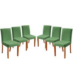 Kit-6-Cadeiras-de-Jantar-Estofada-Verde-em-Veludo-Yarim
