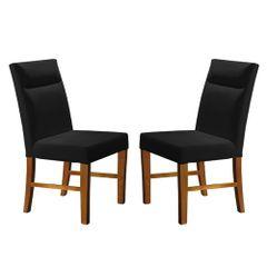Kit-2-Cadeiras-de-Jantar-Estofada-Preta-em-Veludo-Yastik