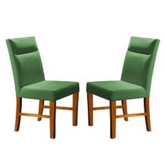 Kit-2-Cadeiras-de-Jantar-Estofada-Verde-em-Veludo-Yastik