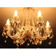 Lampada-Vela-Filamento-LED-Fosca-3W-E27-Branca-Quente-Toplux---Ambiente